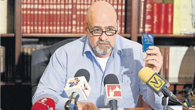 Francisco Ameliach tomará medidas legales para impedir la realización de la consulta. (Gobernación Bolivariana de Carabobo)