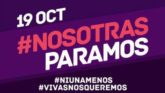 Convocan a paro nacional de mujeres en Argentina tras violación y asesinato de adolescente de 15 años. (Difusión)