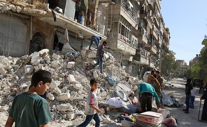 Rusia y Siria detendrán bombardeos en Alepo durante 8 horas este jueves. (AFP)