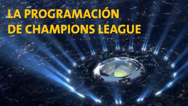 Conoce la programación de la Fecha 3 de Champions League.