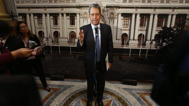 Participativo. Ministro inauguró la Cumbre de Comercio Exterior de la Cámara de Comercio de Lima. (Renzo Salazar)