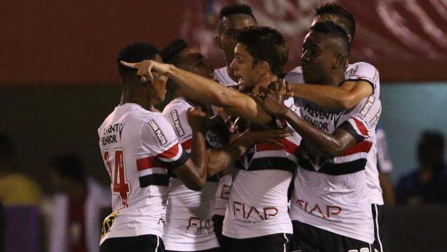 Con Christian Cueva en la cancha, Sao Paulo venció 2-1 a Fluminense. (Sao Paulo)
