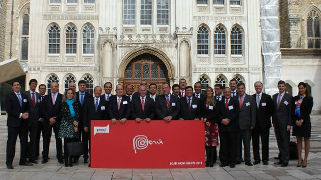 inPERU reunió a más de 300 inversionistas en Londres. (USI)