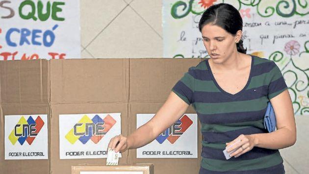 Ttraba. Si la MUD falla en recolectar el mínimo necesario de firmas en un estado, no habrá consulta. (AFP)