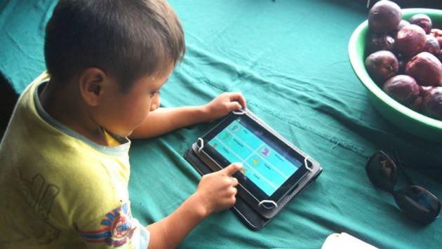 Aprenderán con el sistema de Google para los teléfonos y tabletas. (IIAP)