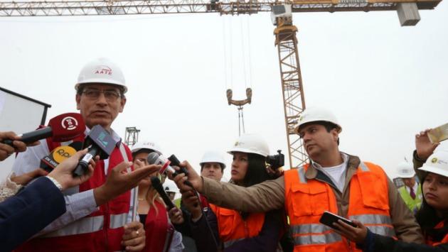 Ofreció detalles sobre el desarrollo de la Línea 2. (Andina)
