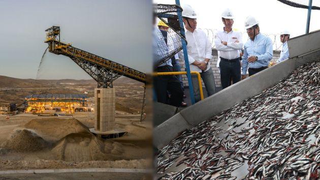 Perú seguirá observando crecimiento en pesca de anchoveta y sector minero. (Perú21)