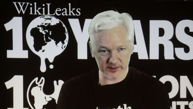 Julian Assange se encuentra en la embajada ecuatoriana desde el 2012. (AP)