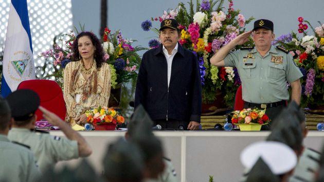 Daniel Ortega en busca del cuarto mandato. (EFE)