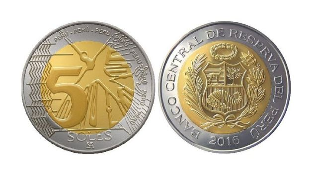 moneda 5 soles BCR