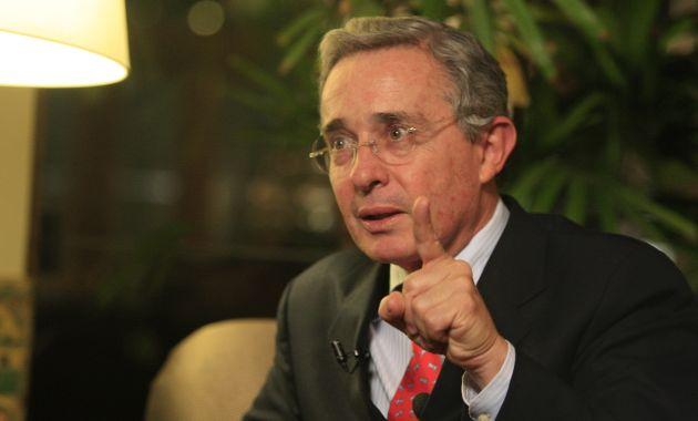 Álvaro Uribe, ex presidente de Colombia.
