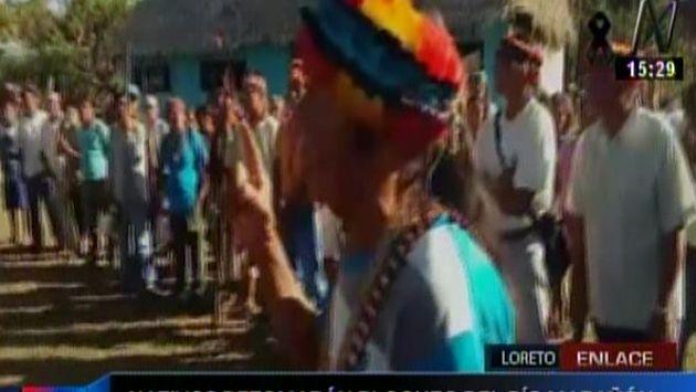 Loreto: Comunidades indígenas retomaron protestas tras no obtener respuesta del Gobierno. (Canal N)