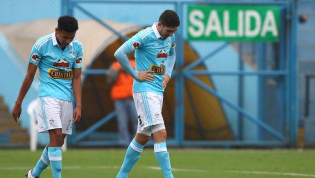Sporting  Cristal no pudo seguir con su racha ganadora. (USI)