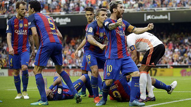 Barcelona: El insulto de Neymar que enardeció a la hinchada del Valencia y la respuesta de Messi [Video]
