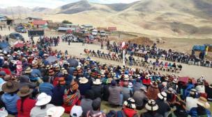 Las Bambas: Gobierno solicitó 45 días de tregua y desbloqueo de carreteras