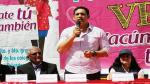 La Libertad: Gobernador regional lamentó que no se haya declarado en emergencia sanitaria la región por varicela - Noticias de luis valdez