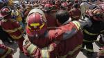 Este mensaje difundido en Facebook destaca la vocación de los 3 bomberos fallecidos en El Agustino - Noticias de raul jimenez