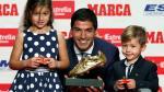 Luis Suárez recibió la segunda Bota de Oro de su carrera [Fotos] - Noticias de oscar suarez