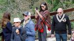 Demi Moore recorrió la ciudadela inca de Machu Picchu [Fotos y video] - Noticias de
