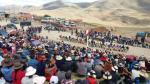 Las Bambas: Gobierno solicitó 45 días de tregua y desbloqueo de carreteras - Noticias de marisol perez tello
