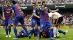 Barcelona: El insulto de Neymar que enardeció a la hinchada de Valencia y la respuesta de Messi. (AP)