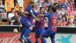 Barcelona ganó 3 a 2 frente a Valencia y se coloca en la punta de la Liga española [Fotos y video] - Noticias de rodrigo messi