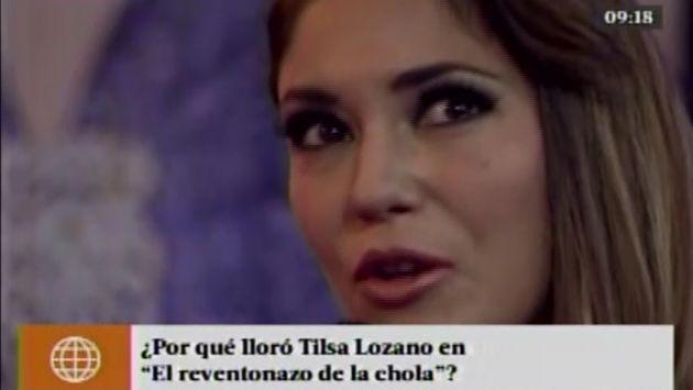 Tilsa Lozano lloró al contar que su vida corrió riesgo durante el parto [Video]