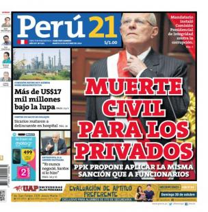 Muerte civil para los privados