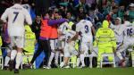Real Madrid venció 2-1 al Athletic de Bilbao y tomó la punta de la Liga española [Fotos y video] - Noticias de santiago bernabeu