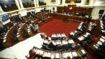Pleno del Congreso aprobó norma para que los funcionarios y empleados de confianza del Estado presenten declaración jurada de bienes. (USI)