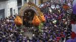 Desvíos en Metropolitano por la penúltima procesión del 'Señor de los Milagros' - Noticias de estacion espana