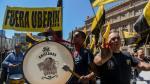 Argentina: Miles de taxistas salieron a las calles para protestar contra Uber - Noticias de omar canales