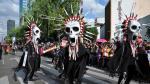 México celebró el primer día de desfile por el Día de los Muertos [Fotos] - Noticias de james bond