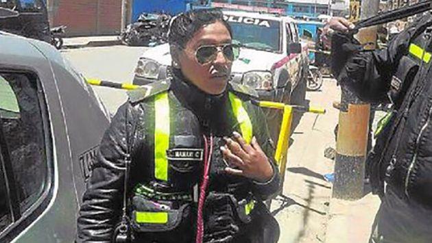 Fiscalía solicitó 9 meses de prisión preventiva para Susana Mamani,policía que fue grabada solicitando coima en Puno. (Difusión)