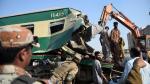 Al menos 21 muertos y decenas de heridos por choque de trenes en Pakistán - Noticias de accidente de tren