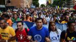 Universitarios marchan en Venezuela con exigencias para diálogo entre chavismo y oposición [Fotos] - Noticias de hilda saldarriaga