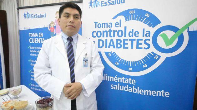 EsSalud iniciará una campaña médica gratuita de despistaje de diabetes este lunes. (USI/Referencia)