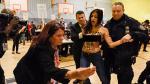 Dos mujeres en 'topless' irrumpieron en local de votación de Donald Trump - Noticias de femen