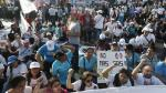 Médicos y enfermeras fueron retirados del frontis del Congreso con gases lacrimógenos [Fotos] - Noticias de larco herrera