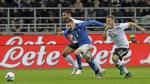Gianluca Lapadula no jugó en el empate sin goles entre Italia y Alemania [Fotos] - Noticias de mario ventura