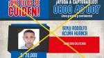 Los más buscados: PNP capturó a cabecilla de los 'Gatilleros de Tiwinza' en Chiclayo - Noticias de extorsiones