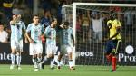 Argentina venció 3-0 a Colombia con gol de Lionel Messi [Fotos y video] - Noticias de jose pekerman