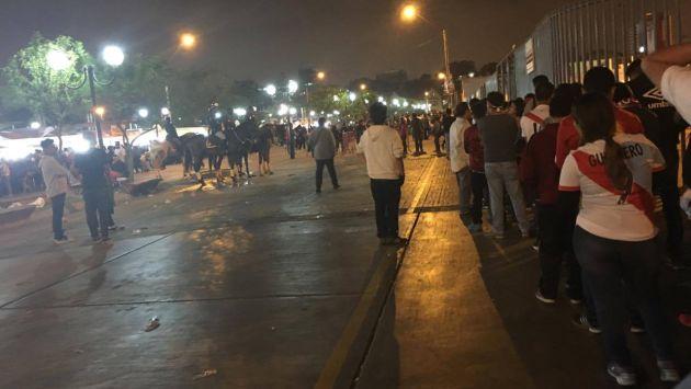 FPF anunció que devolverá dinero a las personas que no pudieron entrar al Perú vs. Brasil. (Leonardo Sánchez)