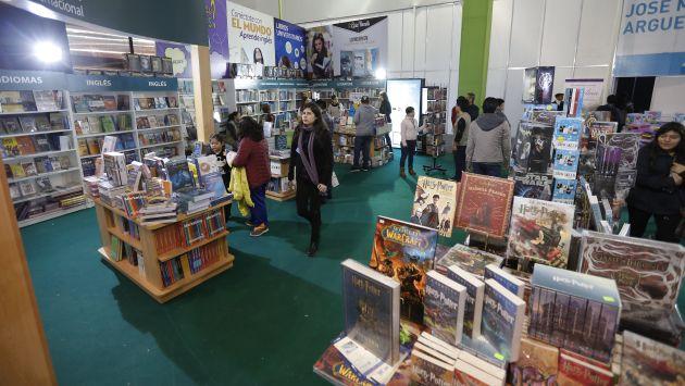 Las ferias de libro son parte de la dinámica económica cultural.