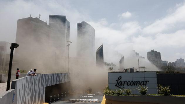 Incendio en Larcomar cobró cuatro vidas. (Renzo Salazar)