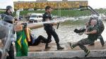 Brasil: Manifestantes irrumpieron en la Cámara de Diputados y se enfrentaron a la Policía - Noticias de michel canta