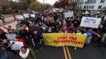Universitarios de Estados Unidos protestan contra plan de deportación de Donald Trump - Noticias de universidad de yale
