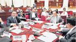 Comisión de Fiscalización investigará a Pedro Cateriano, René Cornejo y Juan Jiménez - Noticias de ministros juan jimenez