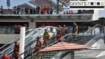 Incendio en Larcomar: Así fue la ardua labor de los bomberos que atendieron la emergencia - Noticias de andres avelino caceres
