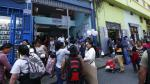 Municipalidad de Lima recomendó no llevar a bebés en coche o adultos mayores a Mesa Redonda - Noticias de mario cassaretto